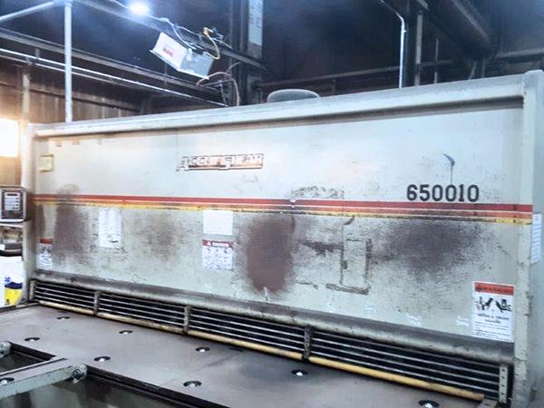 Used Hydraulic Shear  AccurShear 650010 2005