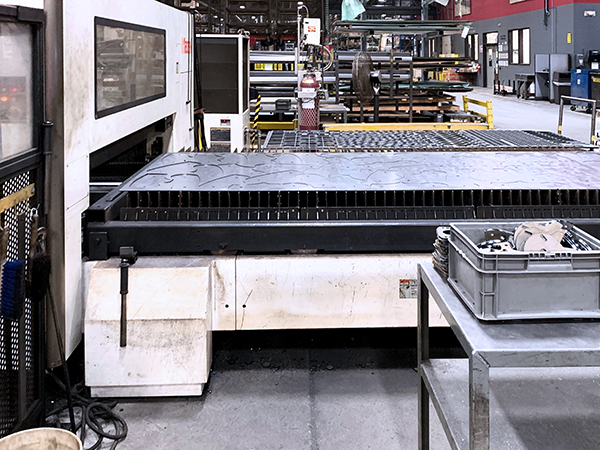 Used Laser Cutting Machine Mazak Optiplex Nexus 3015 2014