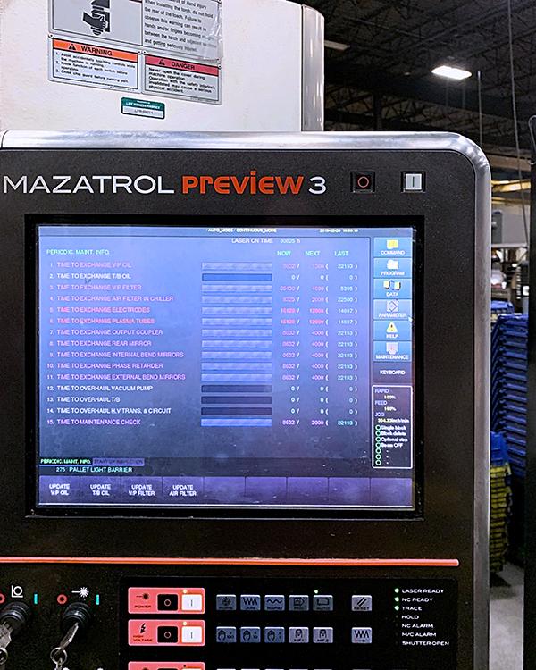 Mazak Optiplex Nexus 3015 2014 5