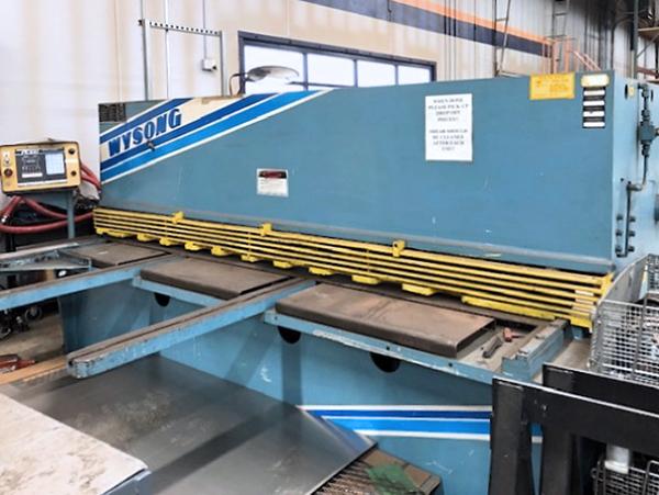 Used Hydraulic Shear  Wysong H2510 2004