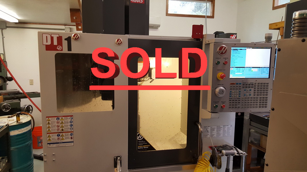 Used Vertical Machining Center For Sale Used Vertical Machining Center For Sale Haas DT-1 2015 1