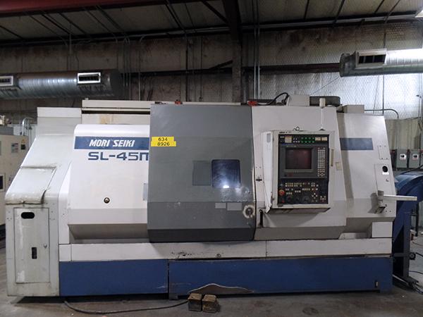 Used Mori Seiki CNC Lathe SL-45MC /1000 For Sale