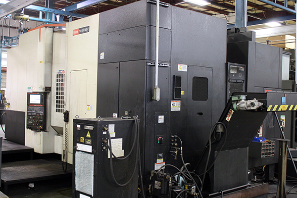 Used Horizontal Machining Center Mazak Nexus 6800-II 2009