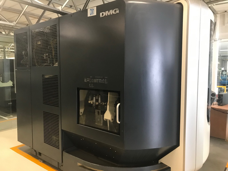 Used 5 Axis Machining Center DMG DMU 80 MonoBlock 2011