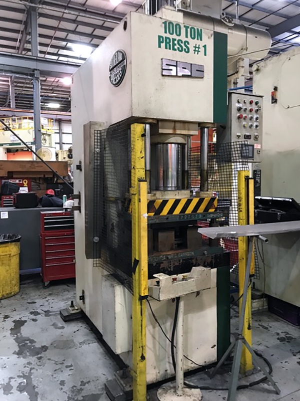 Used Hydraulic Press  Sutherland CPS-100C 1999