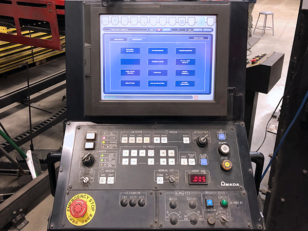 Used Laser Cutting Machine Amada FO3015 NT 2007