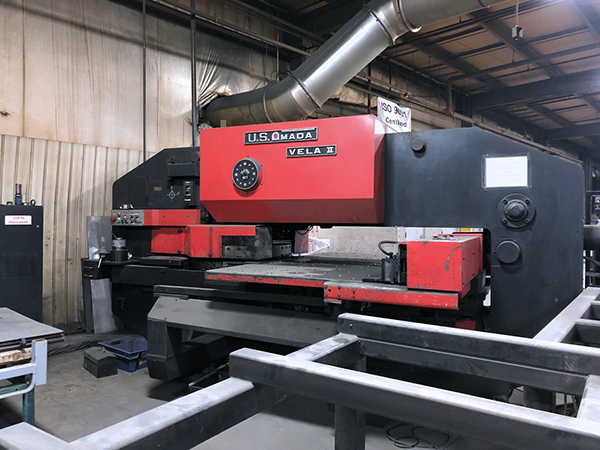 Used Turret Punch Amada Vela II 355 1985