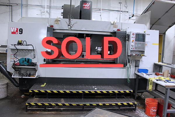 Used Vertical Machining Center Haas VF-9 /40 2015