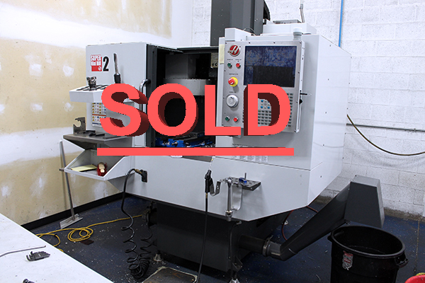 Used Vertical Machining Center Haas Super Mini Mill 2 2015
