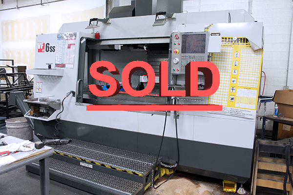 Used Vertical Machining Center Haas VF-6SS 2015