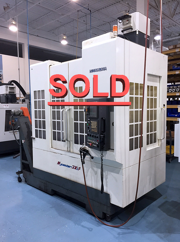 Used Vertical Machining Center For Sale Kitamura 3XiF 2003 1