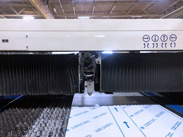 Used Laser Cutting Machine Trumpf Trumatic L3030 1999