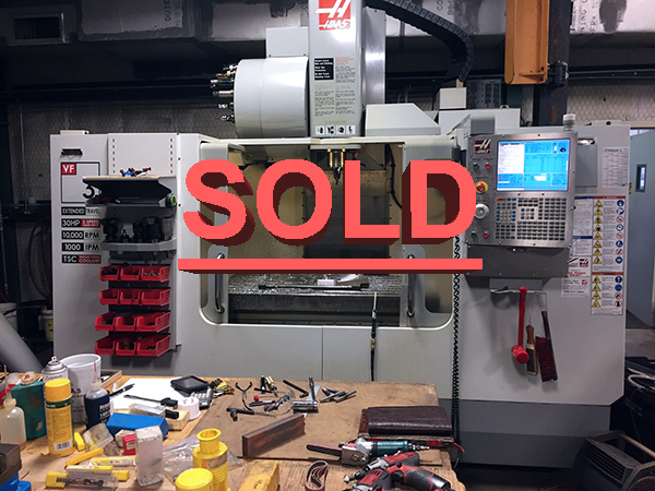 Used Vertical Machining Center Haas VF-3BYT 2009