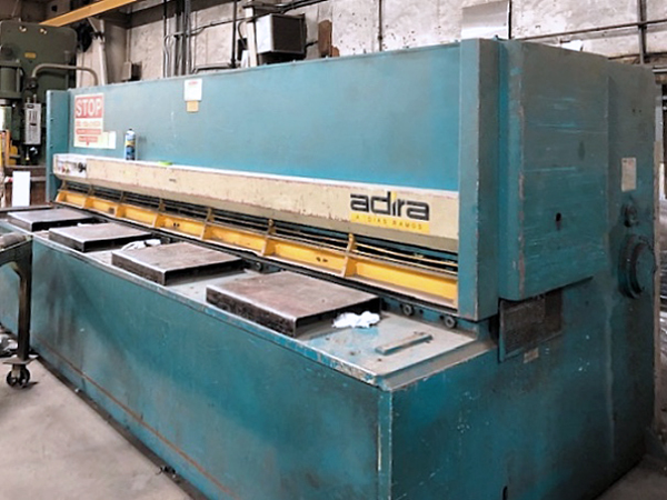 Used Hydraulic Shear  Adira GHS1040 1997