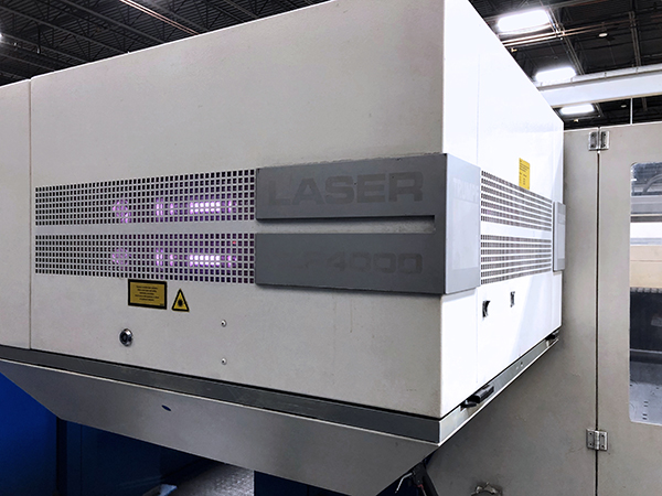 Used Laser Cutting Machine Trumpf Trumatic L3030 2005