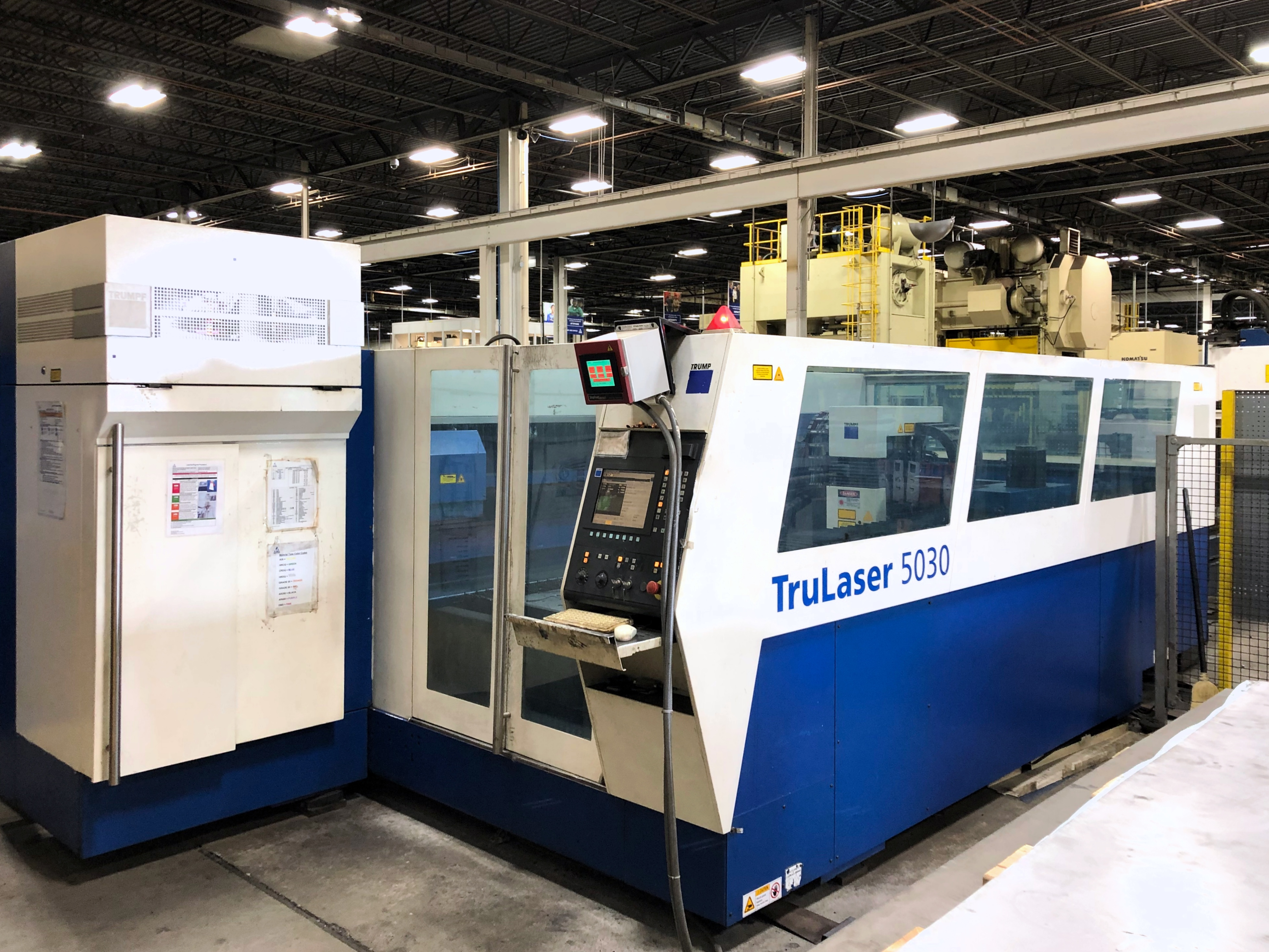 Used Laser Cutting Machine Trumpf TruLaser 5030 2008