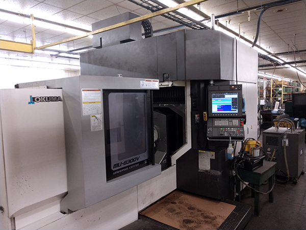 Used 5 Axis Machining Center Okuma MU-6300V 2015