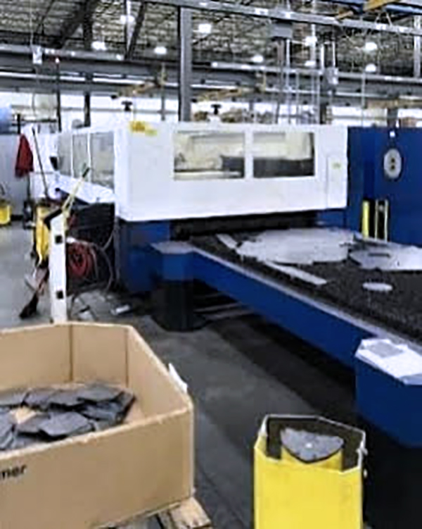 Used Laser Cutting Machine Trumpf Trumatic L3030 2004