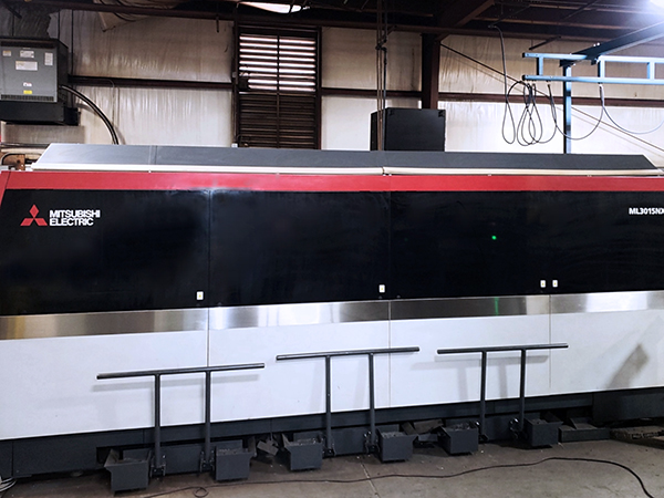 Used Laser Cutting Machine Mitsubishi ML 3015 NX F-40 Fiber 2016