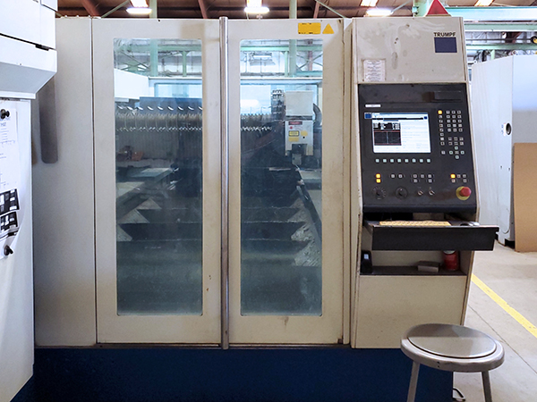 Used Laser Cutting Machine Trumpf Trumatic L3050 2006