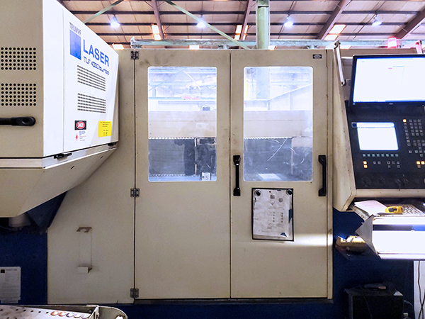 Used Laser Cutting Machine Trumpf Trumatic L3030 2001