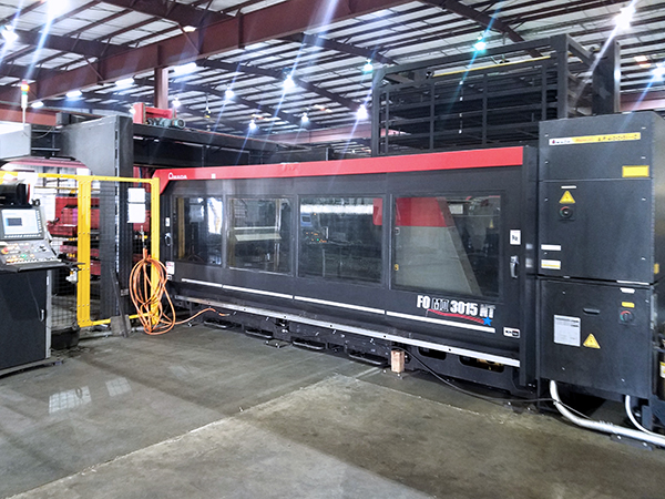 Used Laser Cutting Machine Amada FOMII 3015NT 2013
