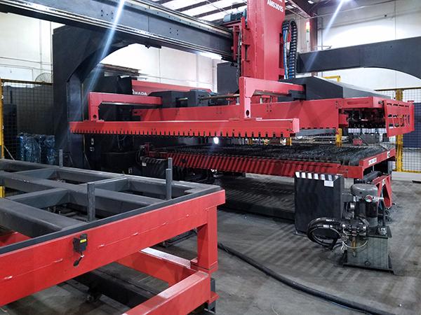 Used Laser Cutting Machine Amada FOMII 3015NT 2013