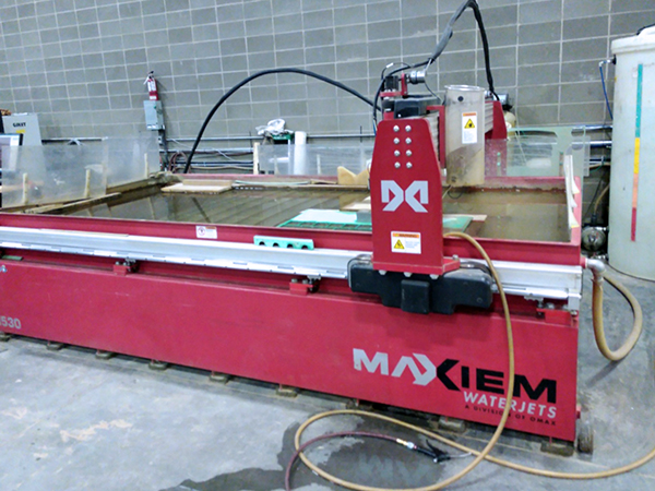 Used Omax Water Jet Maxiem 1530 For Sale