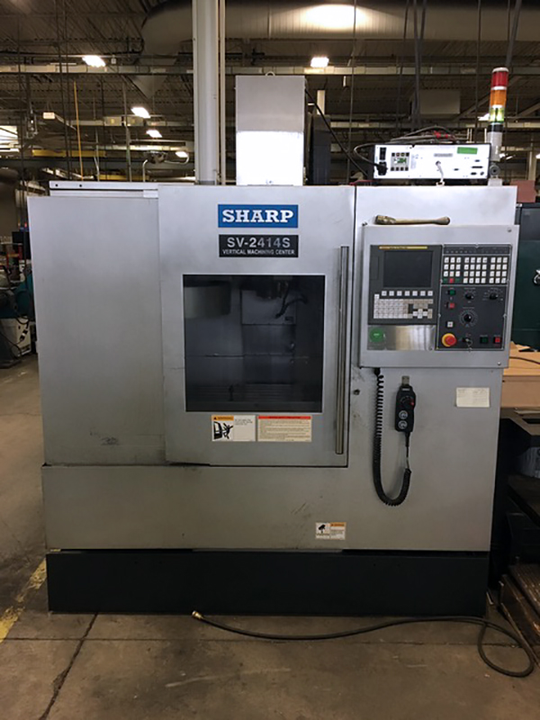Used Vertical Machining Center Sharp SV-2412S 2012