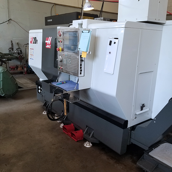Used CNC Lathe Haas ST20Y 2015