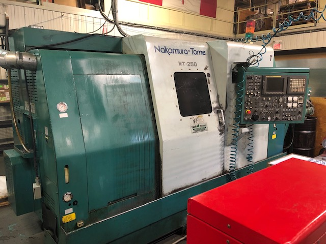 Used Dual Spindle Lathe Nakamura Tome WT-250 2000