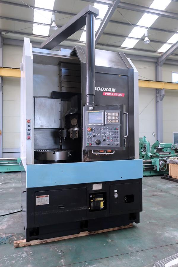 Used CNC Lathe Doosan Puma VT900 2009