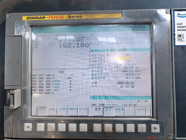 Used Turret Lathe Doosan VTR-1216 2016