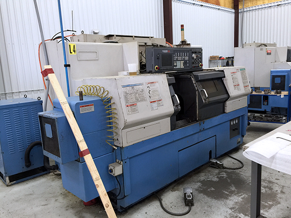 Used Dual Spindle Lathe Mazak Dual Turn 25 2000