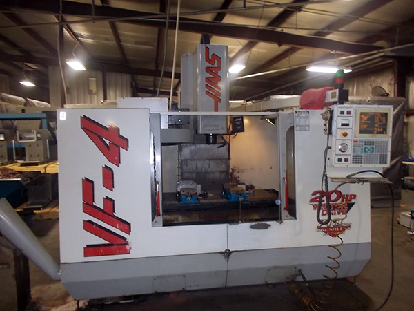 Used Vertical Machining Center Haas VF-4 1998