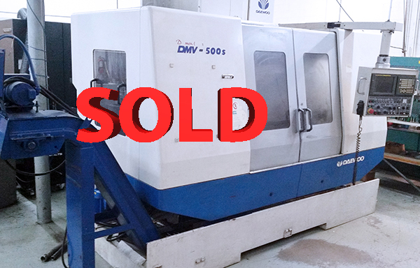 Used Daewoo Vertical Machining Center DMV-500S For Sale