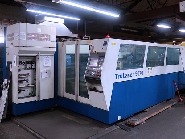 Used Laser Cutting Machine Trumpf Trumatic 5030 2006