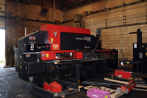 Used Turret Punch Amada vipros 358 king 1995