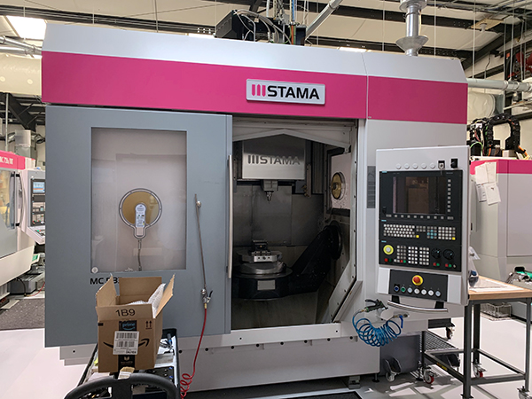 Used 5 Axis Machining Center Stama MC 533 2014