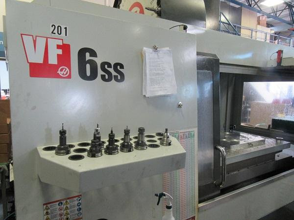 Used Vertical Machining Center Haas VF-6SS 2014