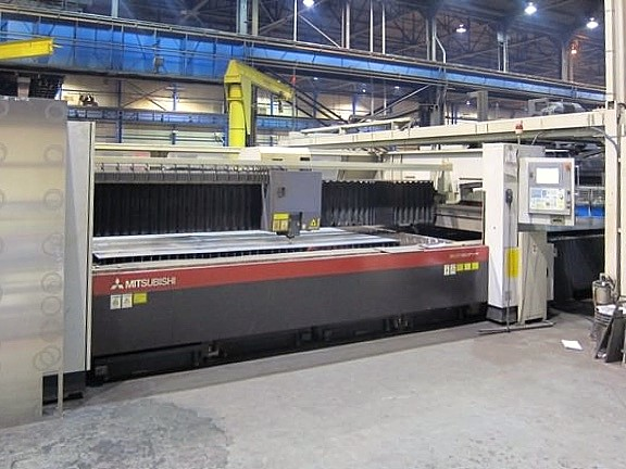 Used Laser Cutting Machine Mitsubishi ML3718LVP 2008