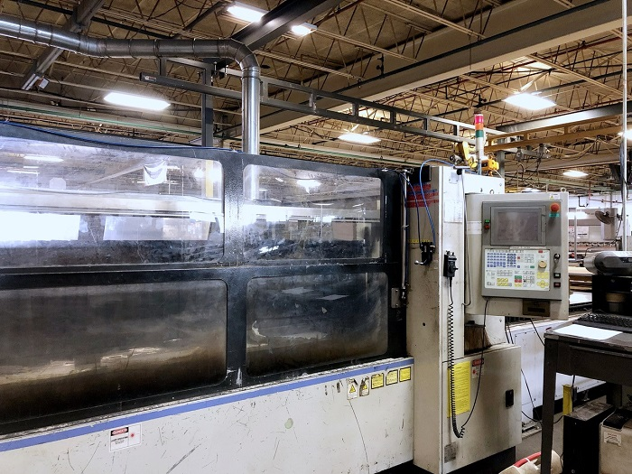 Used Laser Cutting Machine Mitsubishi ML3015 LVP 2004