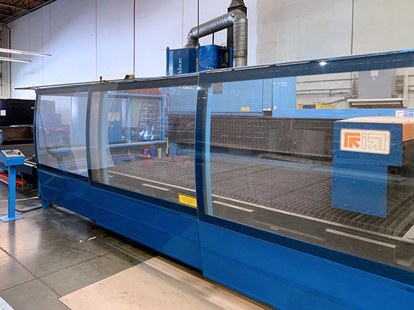Used Laser Cutting Machine Prima Platino 2040 2004