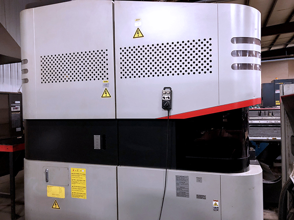 Used Combo Punch Amada LC2012C1NT 2009