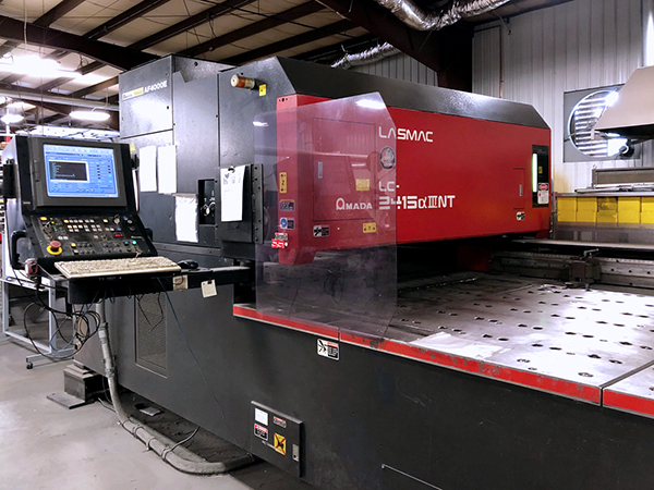 Used Laser Cutting Machine Amada LC-2415A3NT 2005