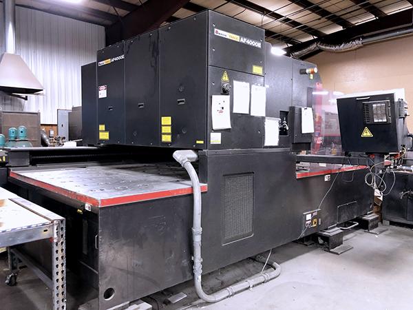 Used Laser Cutting Machine Amada LC-2415A3NT 2005