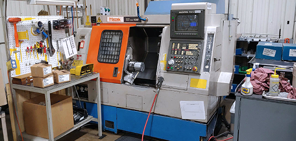 Used CNC Lathe Mazak SQT-10M 1995