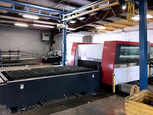 Used Laser Cutting Machine Mitsubishi ML 3015 NX 60XF 2011