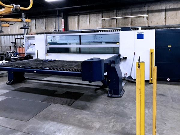 Used Laser Cutting Machine Trumpf TruLaser 1030 2014