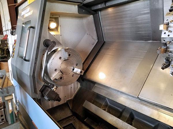 Used CNC Lathe Doosan Puma 400LC 2012